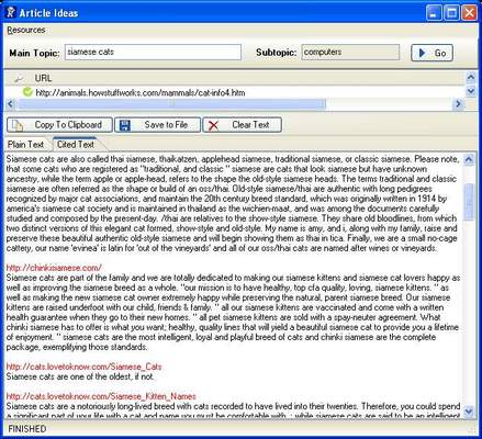Product picture Articles Idea Software